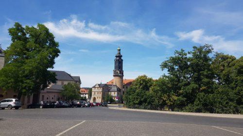 Bild: Straßenansicht in Weimar