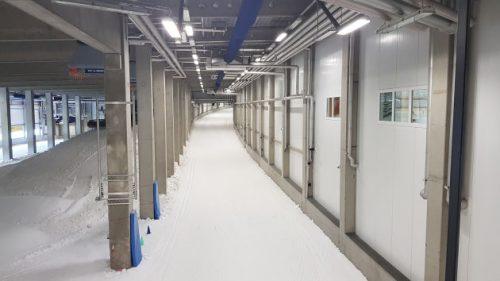 Bild: Langlauf-Eishalle in Oberhof