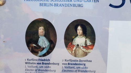 Bild Kurfürst Friedrich Wilhelm von Brandenburg und seine Frau.
