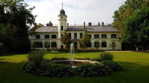 Bild Rückansicht von Schloss Britz