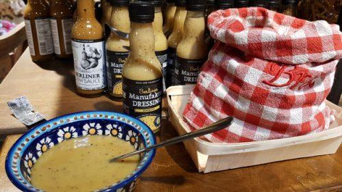 Bild Leckeres Salat-Senfdressing