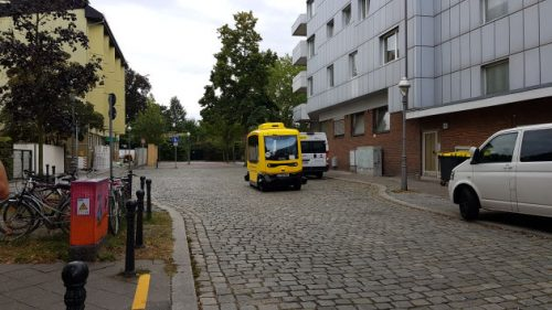 Bild Ein autonom fahrender Bus in Alt-Tegel