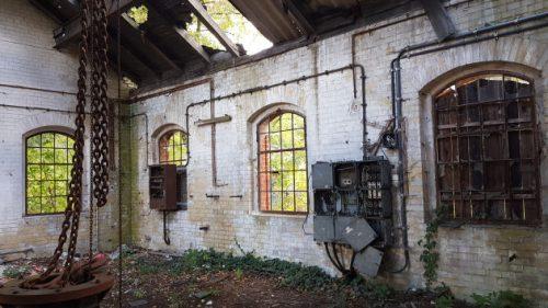 Bild eines Gebäudes bei den Beelitzer Heilstätten