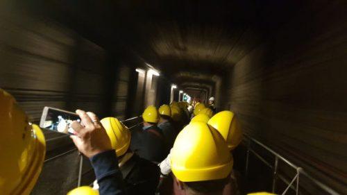 Bild unserer U-Bahn-Cabrio-Fahrt