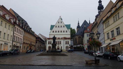 Bild Verregnete Lutherstadt Eisleben