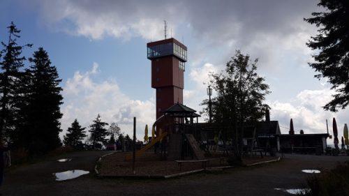 Bild Der neue Aussichtsturm auf dem Wurmberg