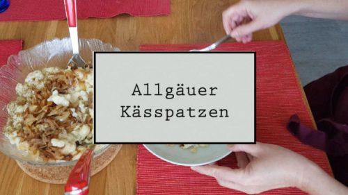 Titelbild Allgäuer Kässpatzen