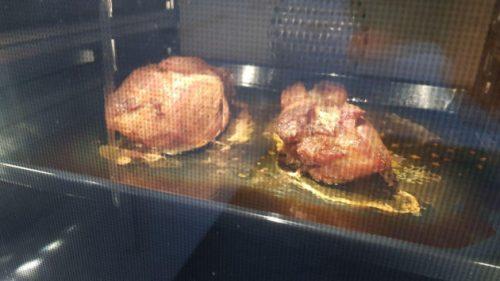 Bild Pulled Pork im Dampfbackofen