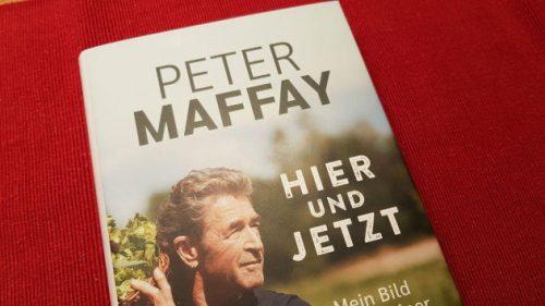 Bild von dem neuen Buch von Peter Maffay: »Hier und Jetzt«