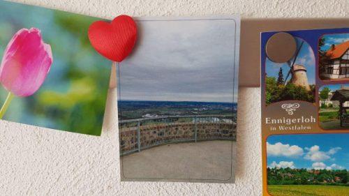 Danke an Sabine und Uli für die schöne Ansichtskarte.