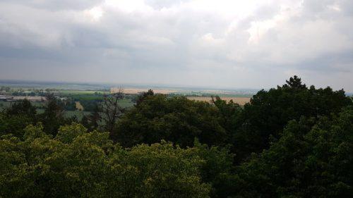 Blick vom Bismarckturm der HWN 199
