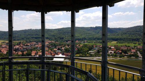 Blick vom Austbergturm