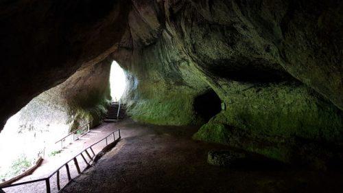 Blick in die Ludwigshöhle