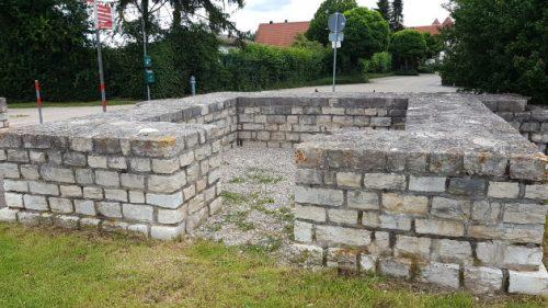 »Ausgrabungen« im Römerkastell von Weißenburg