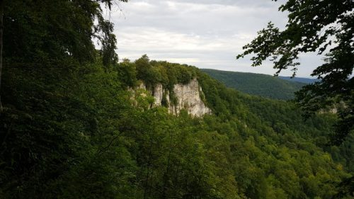 Bild vom Rutschenfelsen