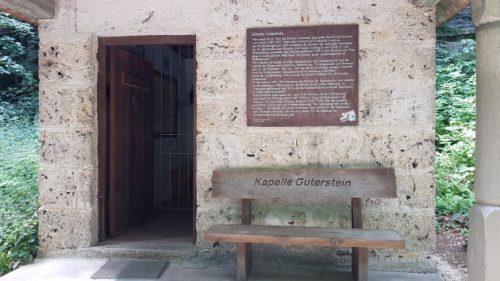 Kapelle am Gütersteiner Wasserfall
