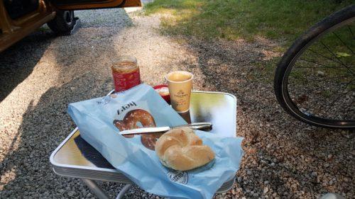 Frühstück auf dem Campingpark Augsburg
