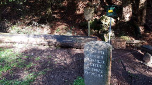 Traurig: Hier wurde am 17. März 1818 der letzte Luchs im Harz erlegt.