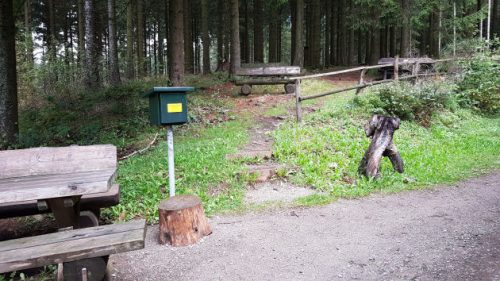 Stempelstelle HWN 104 Tränkebachhütte