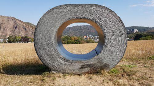 Kunstwerk auf der Themenwanderung »3x3 Salinental: IntroTour Ebernburg«