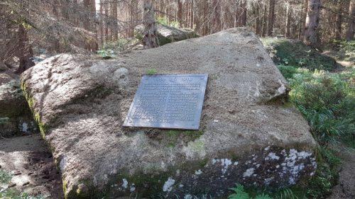Bild des Skidenkmals im Harz