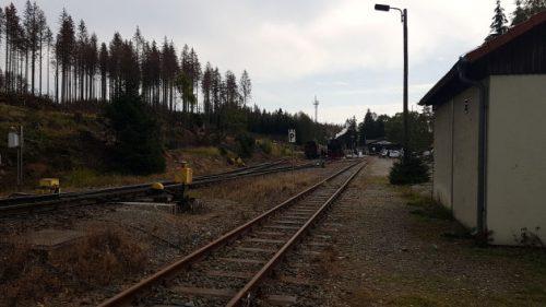 Bahnhof der Schmalspurbahn in Schierke