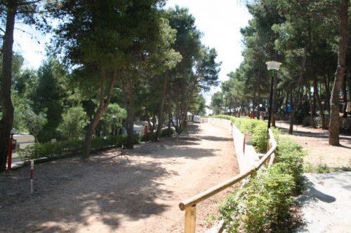 Campingplatz »Punta Lunga« bei Vieste.