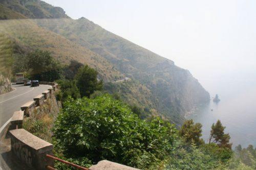Auf dem Weg zur Amalfi-Küste