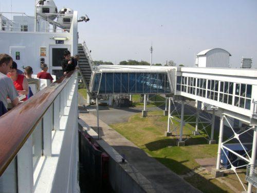 Fährfahrt von Fehmarn nach Dänemark