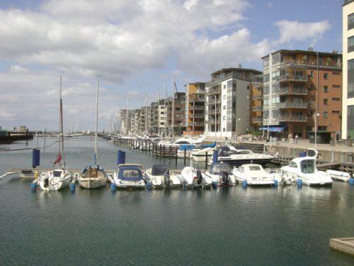 Kleinert Hafen in Malmö