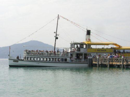 Schifffahrt auf dem Wörthersee