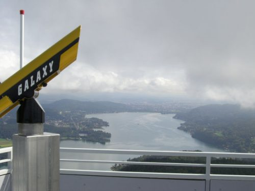 Blick vom Pyramidenkogl in Kärnten