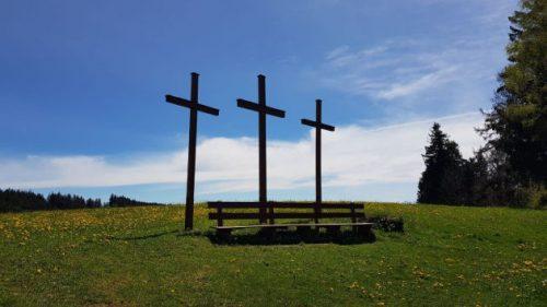 Drei Kreuze neben der Kapfkapelle