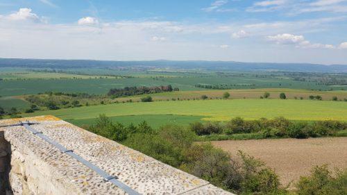 Blick von der Seweckenwarte, einem 8,5 Meter hohen Turm