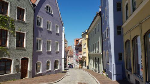 Alte Bergstraße in Landsberg