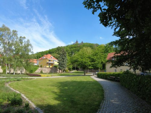 Wernigerode: Blick auf das Schloss