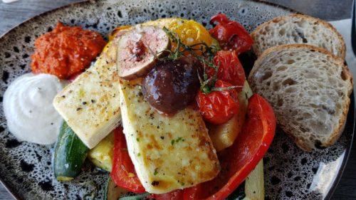 Grillgemüse auf Teller