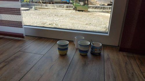 Vier Kaffee