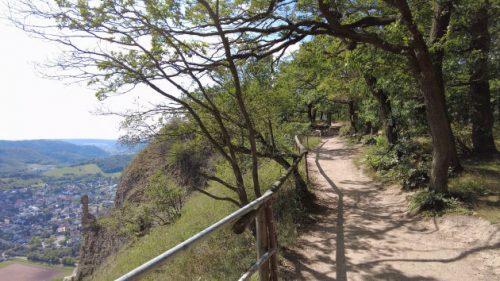 Wanderweg auf dem Rotenfels