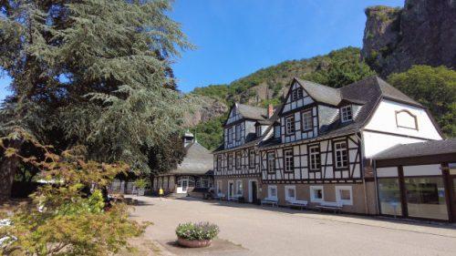 Das Kurmittelhaus in Bad Münster am Stein