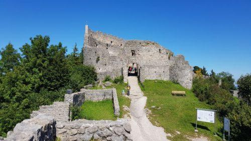 Die Ruine Eisenburg