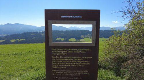 Sehenswürdigkeiten am Wegesrand des Panoramaweges.